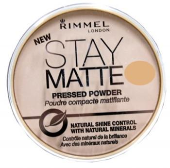Rimmel Stay Matte Silky Beige Pudra