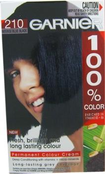 Garnier 100% Color Negru Albastrui