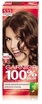Garnier 100% Color Saten Deschis Auriu