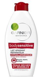Garnier Skin Naturals Body Sensitive Lapte de corp 400 ml