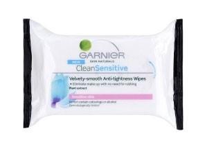 Garnier Clean Sensitive Servetele demachiante