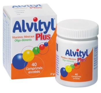 Alvityl Multivitamine x 40 cpr , Urgo