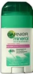 Garnier Deo Mineral ActionControl Stick