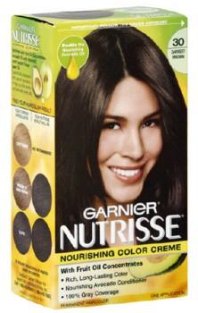 Garnier Nutrisse Ebene Saten Inchis