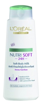 L'Oreal Nutrisoft Lapte de corp pentru piele uscata si sensibila