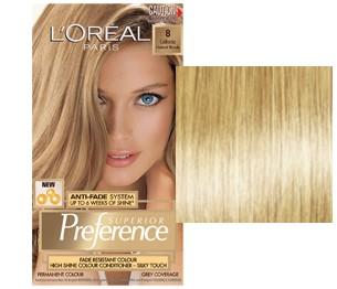 L'Oreal Preference California Blond Deschis Cenusiu