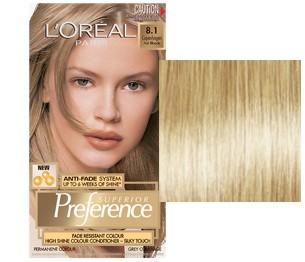 L'Oreal Preference Copenhaga Blond Deschis
