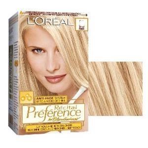 L'Oreal Preference Les Blondissimes Blond Cenusiu
