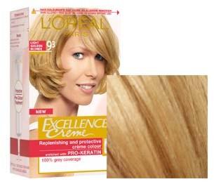 L'Oreal Excellence Blond Foarte Deschis Auriu