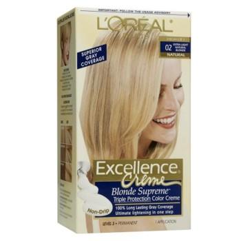L'Oreal Excellence Blond Super Deschis Auriu