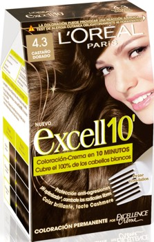 L'Oreal Excell 10 Saten Auriu