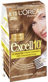 L'Oreal Excell 10 Blond Deschis Glacial