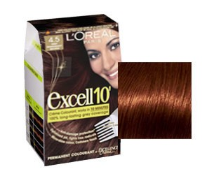 L'Oreal Excell 10 Saten Acaju