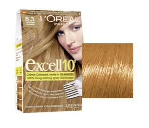 L'Oreal Excell 10 Blond Deschis Auriu