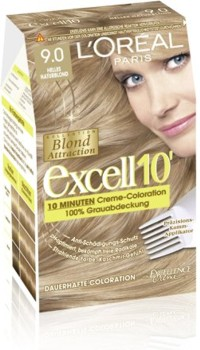 L'Oreal Excell 10 Blond Foarte Deschis