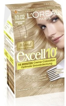 L'Oreal Excell 10 Baby Blonde