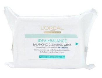 L'Oreal Dermo Expertise Servetele Demachiante Ideal Balance