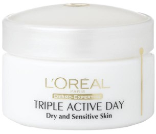 L'Oreal Dermo Expertise Expert Triple Active ten uscat si sensibil