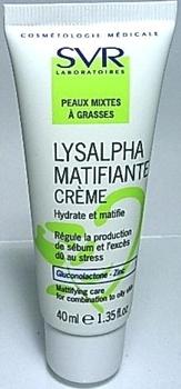 Lysalpha(SEBIACLEAR) SVR Sebiaclear Crema matifianta + pori, 40ml