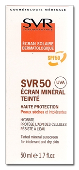 SVR 50 Ecran Mineral Piele Uscata
