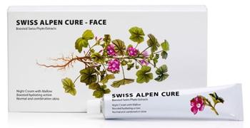 Labo Swiss Alpen Cure crema de noapte cu extract de nalba