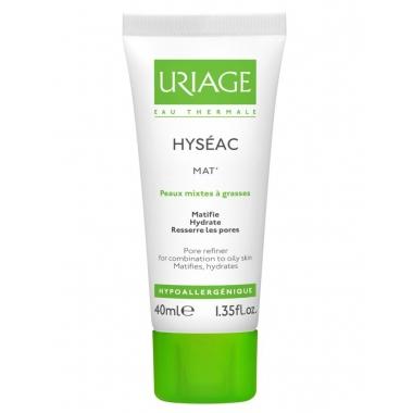 Uriage Hyseac emulsie matifianta pentru ten mixt si gras