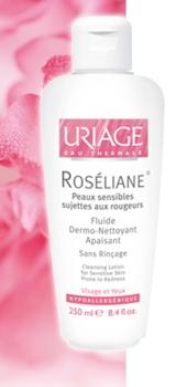 Uriage Roseliane fluid demachiant piele sensibila
