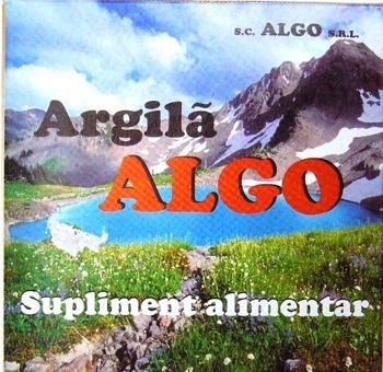 Argila x 500 gr , Algo