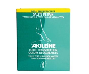Asepta Akileine tablete efervescente impotriva mirosului neplacut al picioarelor