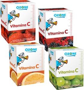 Vitamina C cu arome Ozone