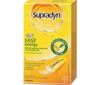 Multivitamine si minerale Supradyn Fast Energy, 10 plicuri, Bayer