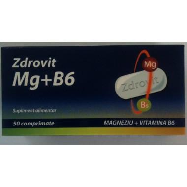 Zdrovit Mg+B6 x 50 cpr