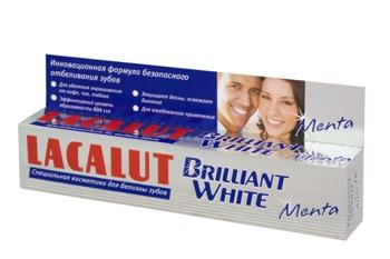 Lacalut Brilliant White Menta