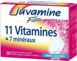 Juvamine 11 vitamine si 7 minerale
