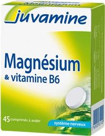 Juvamine Magneziu si Vitamina B6