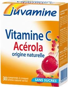 Juvamine Vitamina C de origine naturala