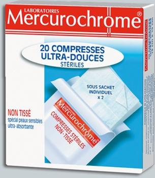 Mercurochrome Comprese Sterile Ultra blande