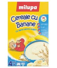 Milupa Cereale cu banane