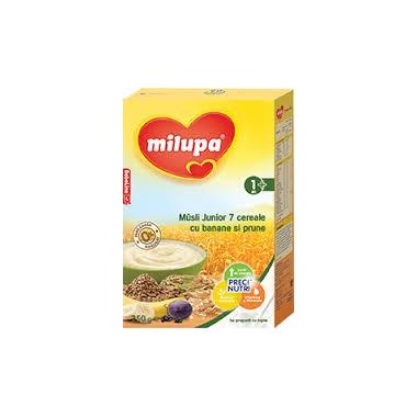 Milupa Cereale Jr Musli banane x 250 gr