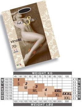 Solidea Ciorapi Venere 70