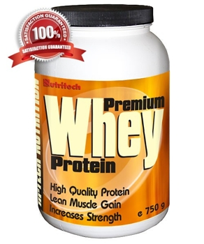 Premium Whey Protein Capsuni 750g