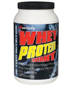 Whey Protein Instant Capsuni 750g