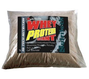 Whey Protein Instant Capsuni punga refill, 3000g