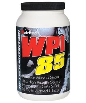 WPI 85 Vanilie 750g