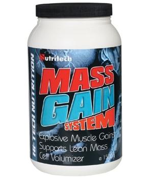 Mass Gain System capsuni 1,5kg