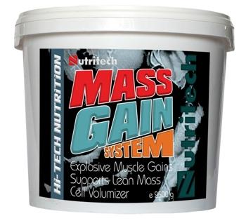 Mass Gain System capsuni 2500g