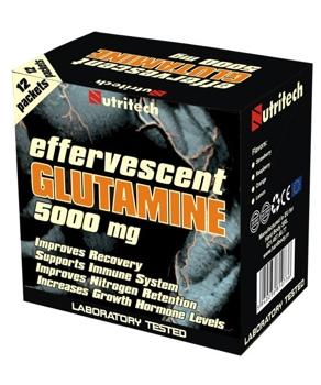 Effervescent Glutamine capsuni