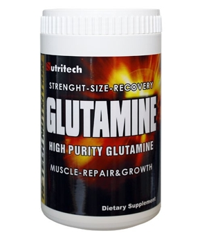100% Pure Glutamine 500g+100 gratis