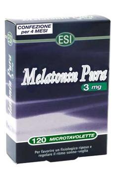 Melatonina Pura 3mg 120 Tablete