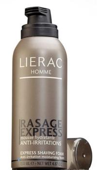 Lierac Homme Rasage Express spuma hidratanta